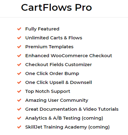 cartflows features