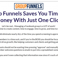 Group Funnels Review and Pricing - Get Leads From Facebook Groups