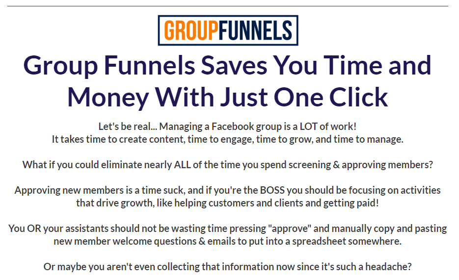 Group funnels review