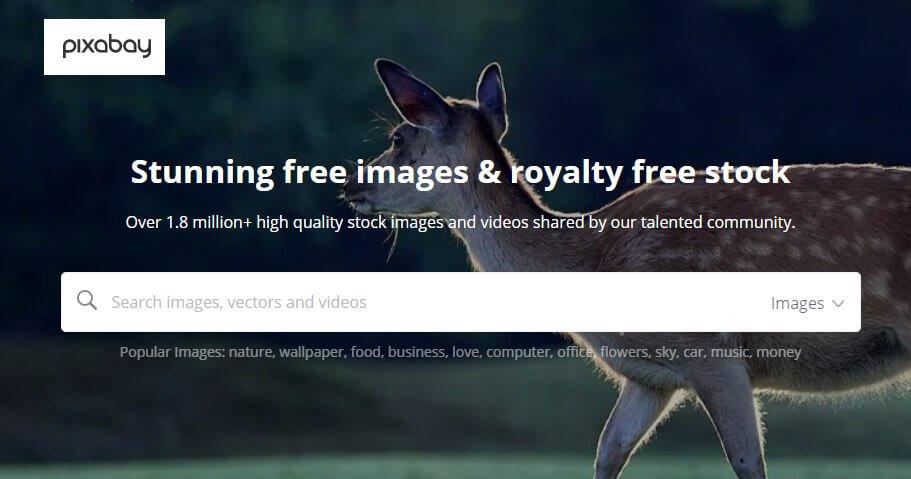 Pixabay stock images