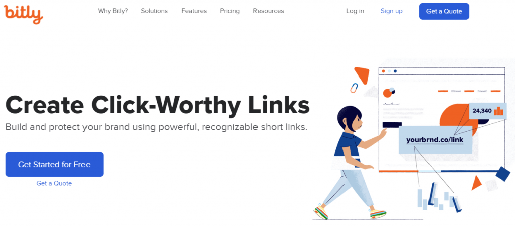 bitly free link tracking