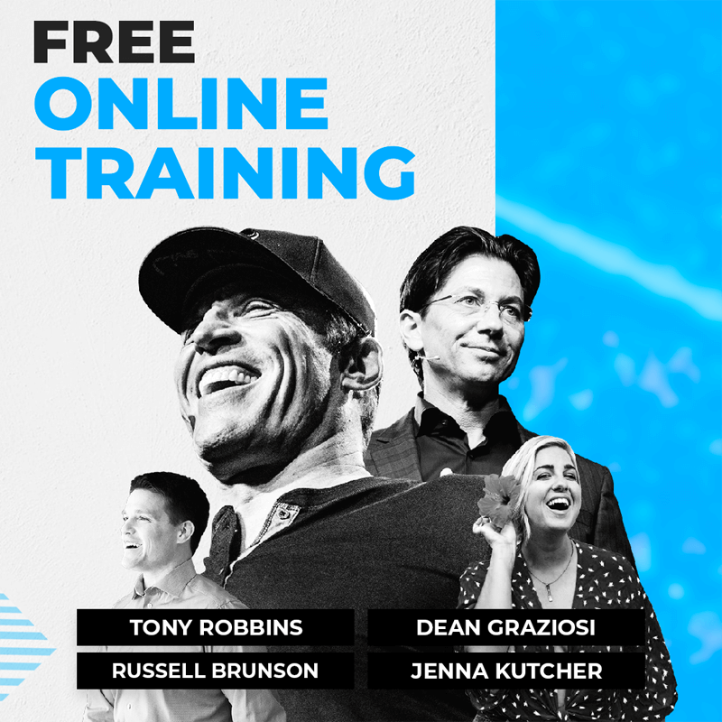 Tony Robbins course training online