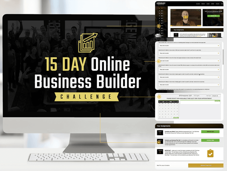 Legendary Marketer 15 Day Challenge Review