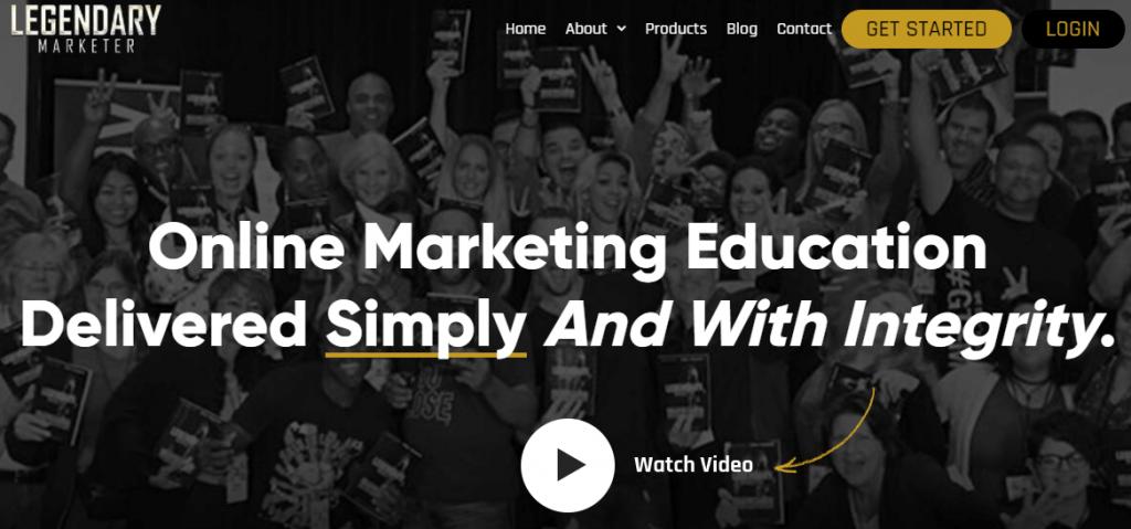 Legendary marketer program