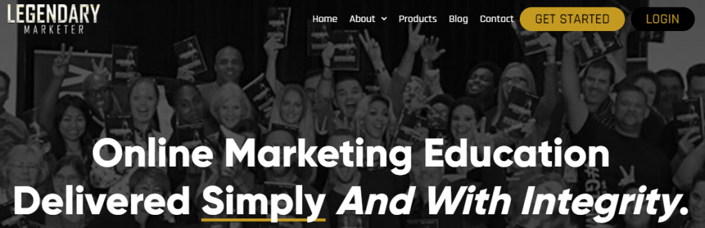 High ticket affiliate product legendary marketer